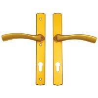 Winkhaus Palladio Gold Lever Door Handle Multipoint Door