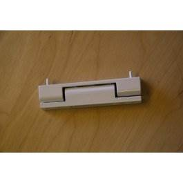 View H115Whf White Upvc Flat Door Hinge (Single Hinge)