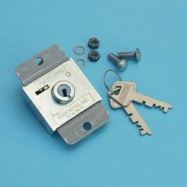 View ZA lock with 2 keys to suit early Garador/Westland doors