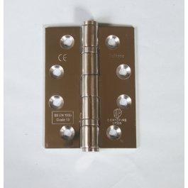 View 14853 102 X 76 X 3Mm P.S.S. Ball Bearing Door Hinge Grade 13 Ce Marked