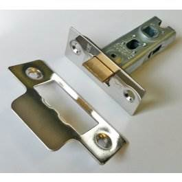 View Gridlock 51.01 Polished Stainless 76mm Tubular Mortice Latch