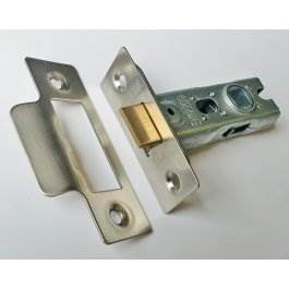 View Gridlock 51.01 Satin Stainless 63mm Tubular Mortice Latch