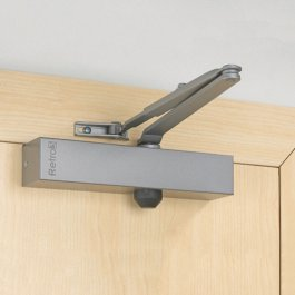 View Union Retro 4 Silver Door Closer