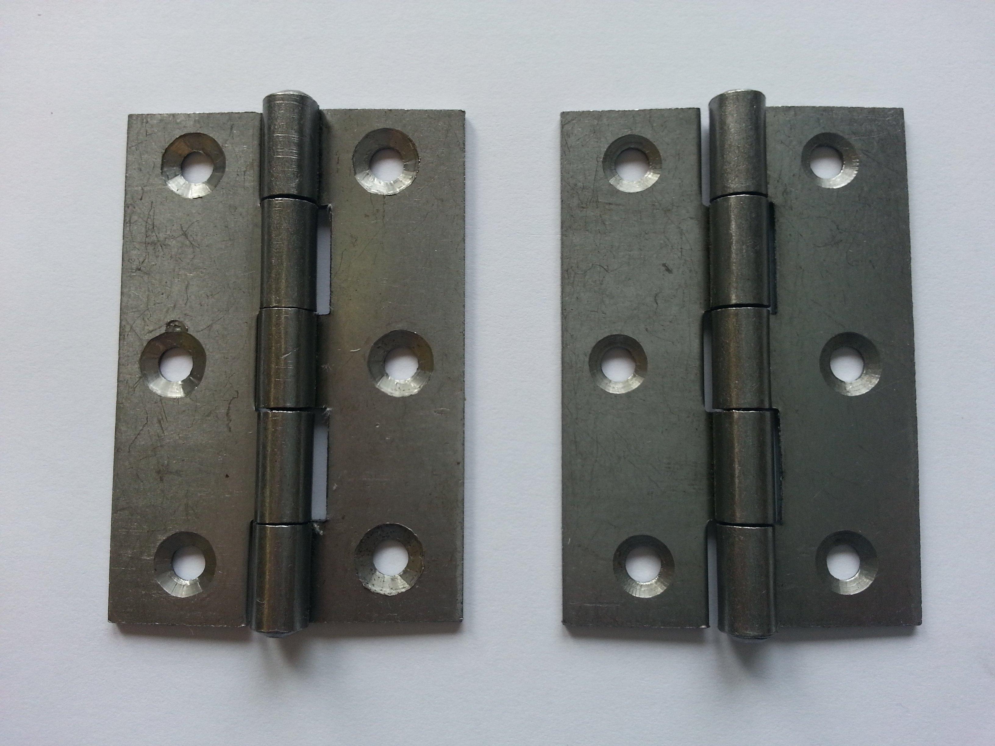1838 76mm Self Colour Steel Door Hinge