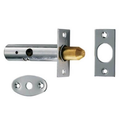 Dsb8225L 85Mm Polished Chrome Extra Long Security Door Bolt