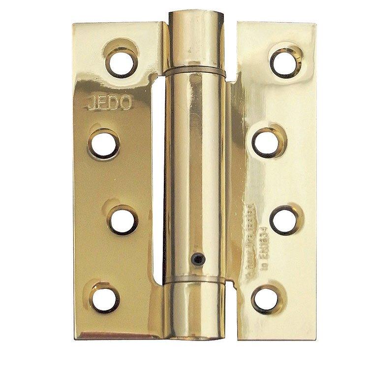 J9800Eb 102 X 76 X 2.7Mm E.Brass S/A Spring Door Hinge