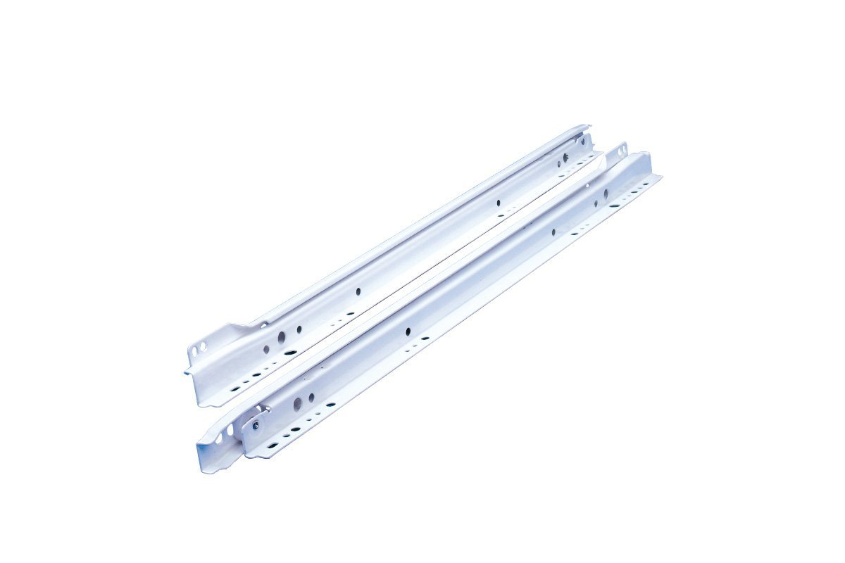 Unico SDS 1212 Drawer Slide 600mm White (1 Pair)