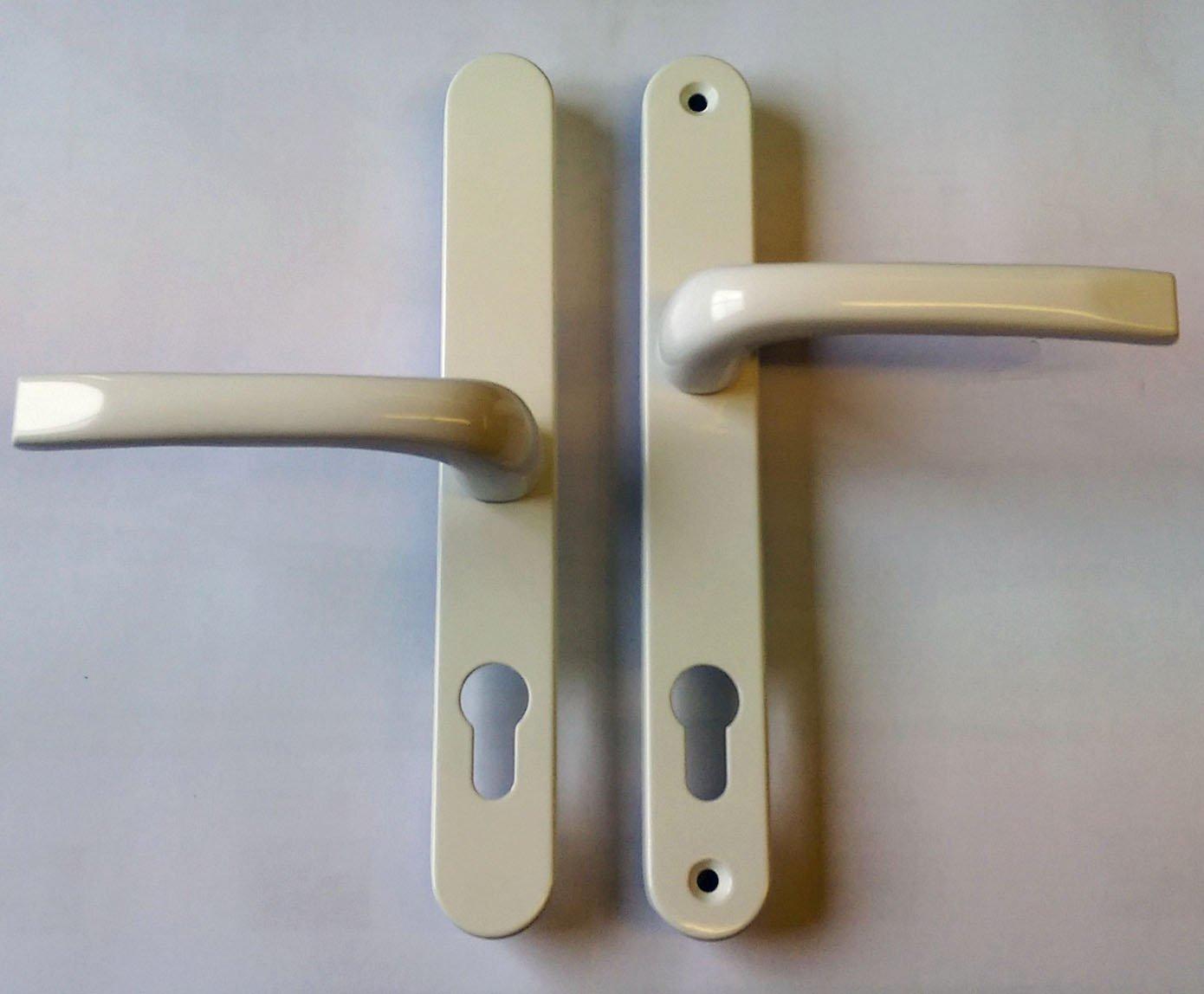 Mila 050448 Pro Linea White Lever Door Handle