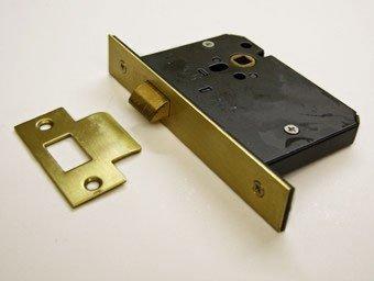 Guardian G4053 63Mm Satin Brass Mortice Door Latch Standard Case