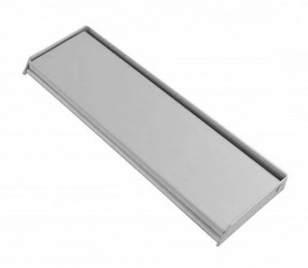 8112 305mm Aluminium Letter Plate