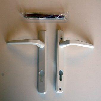 Avocet MBWH08 White Lever Door Handle