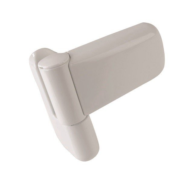Mila Ideal Flag Hinge White 100mm