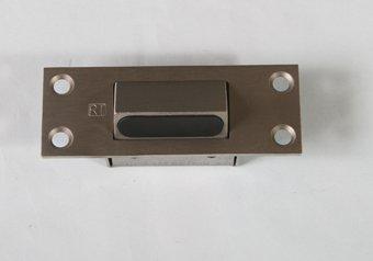H131-105 Satin Stainless Steel Emergency Door Stop & 105 Satin Stainless Steel Emergency Door Stop