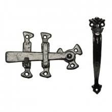Kirkpatrick 1147 Black Antique Thumb Latch