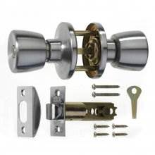 Era 168-51 S.Chrome Privacy Door Knob Set
