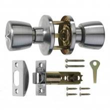 Era 170-51 S.Chrome Passage Door Knob Set