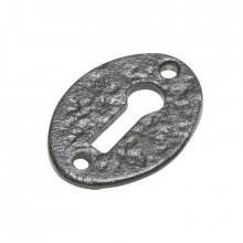 Kirkpatrick 3011 Black Antique Keyhole Key Hole Cover