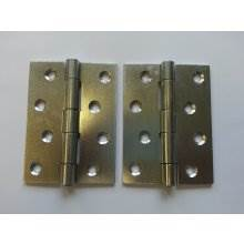 451 102mm Zinc Plated Steel Strong Door Hinge