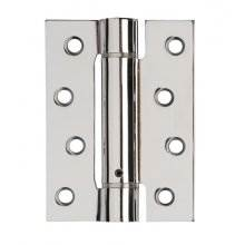 Excel Spring Hinge 102 X 76mm Polished Chrome 3 Hinge Pack