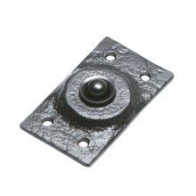 Kirkpatrick 4748 Black Antique Bell Push