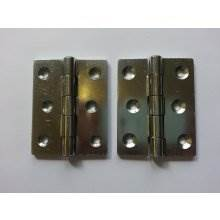 899 76mm Zinc Plated Steel Double Pressed Door Hinge