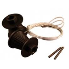 Cones and cables CD45 to suit Cardale doors