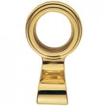 Aq40 Polished Brass Cylinder Key Hole Pull