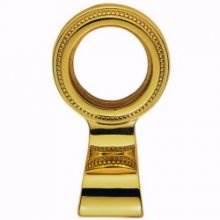 Dl9 Polished Brass Regency Cylinder Key Hole Pull