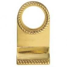 Fg9 Polished Brass Georgian Cylinder Key Hole Pull