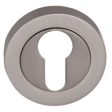 Fortessa Feesc Satin Nickel Euro Key Hole Cover