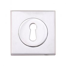 Fortessa P.Chrome Square Lever Key Hole Cover