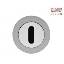 Karcher Ez1332 Satin/Polished Stainless Keyhole Key Hole Cover