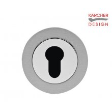 Karcher Ez1332 Satin/Polished Stainless Euro Key Hole Cover