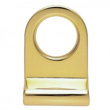 8402 Polished Brass Cylinder Key Hole Pull