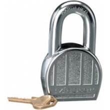 Master 220D Solid Steel Round 50Mm 5Pin Padlock 2Keyed