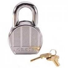 Master 230D Solid Steel Round 65Mm 5Pin Padlock 2Keyed