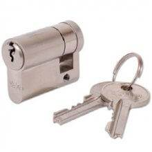 Yale 417N 46mm Single Euro Cylinder Lock