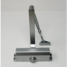 Eclipse Door Closer Silver EN1154