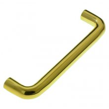 In350/225Bf 225Mm X 19Mm  P.Brass Pull Handle Bolt Fixed