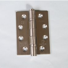 14854 102 X 76 X 3Mm S.S.S. Ball Bearing Door Hinge Grade 13 Ce Marked