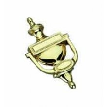8456 Polished Brass Door Knocker