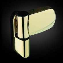 Avocet Mini Triad 3D Flag Hinge Champagne Gold 89mm