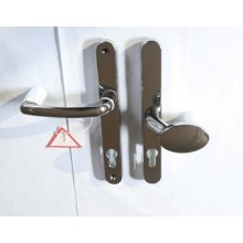 Fab Fix balmoral pol chrome lever pad door handle