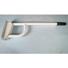 Bathex Single Hinged Support Rail 760Mm X  35Mm White