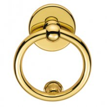 M37 Polished Brass Ring Knocker