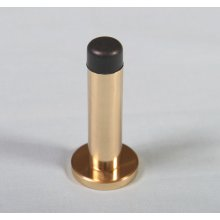 Aa21 Polished Brass 63Mm Projection Door Stop