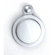 M42Cp P.Chrome Key Hole Cover Covered