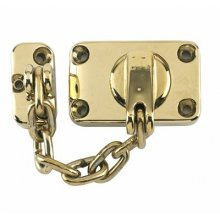 Yale Ws16 Electro Brass Combined Door Chain And Bolt
