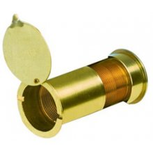 Yale Ws9 Large P.Brass Door Viewer 180 Degree (40-100Mm Thick Doors)
