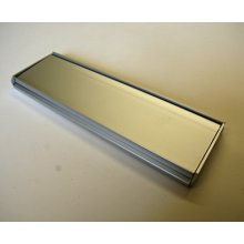 "105 Mk1 SAA Letter Plate 10"" X 3"" Outward Opening"